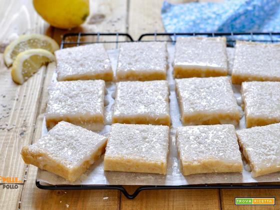 Dolcetti al limone senza cottura con mandorle e cocco