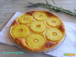 Torta di pasta sfoglia e ananas fresco