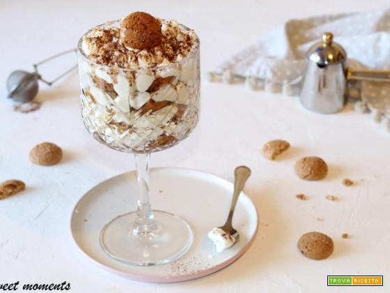 Tiramisù agli amaretti | Sweet moments ricette