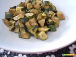 Zucchine speziate al forno