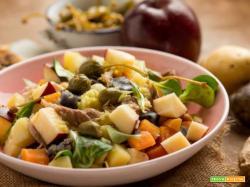 Insalata di sgombro con patate e mele: una delizia