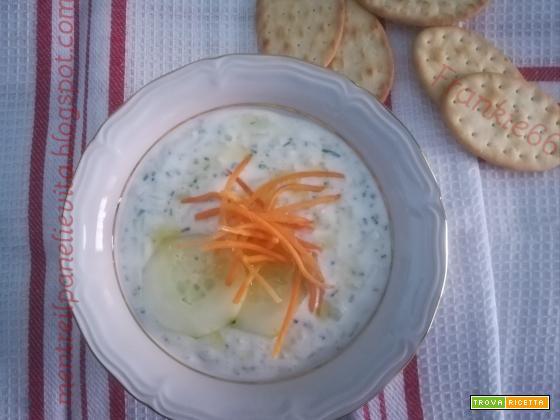 Salsa allo yogurt tipo tzatzichi