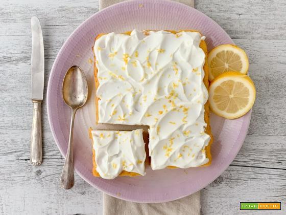 Ricotta and Lemon Tart (a basso impatto glicemico)