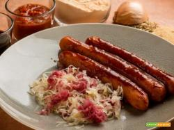 Una ricetta tedesca vegan? Ecco i wurstel di lenticchie con crauti!