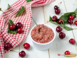 Gelato alle ciliegie – Ricetta senza panna