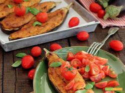 Barchette di Melanzane (versione vegetariana)