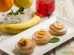 Pan banana al riso: i bocconcini per ogni occasione
