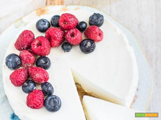 Torta fredda allo yogurt – senza cottura
