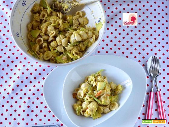 Orecchiette alla Carbonara di Zucchine