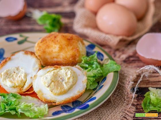 Uova alla monacale ricetta siciliana