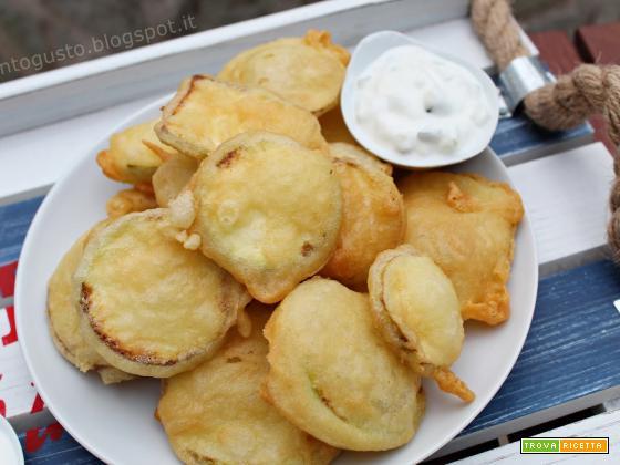Zucchine fritte ricetta greca