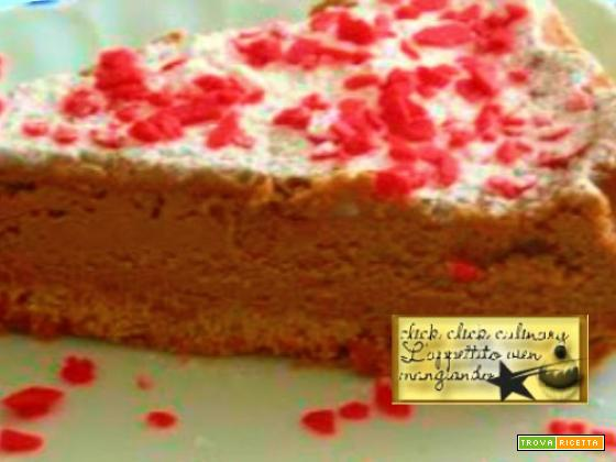 Dolce …cheesecake… al cioccolato …