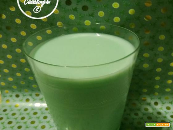 liquore latte menta
