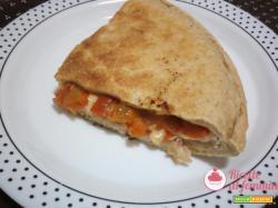 Pizza in padella con esubero di pasta madre