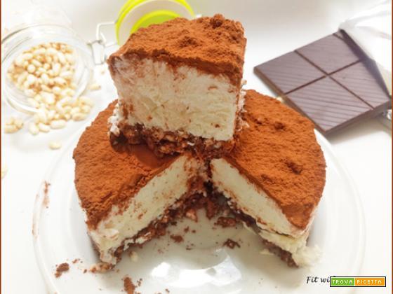 Cheesecake Semifreddo Light Ricotta Cocco e Cacao