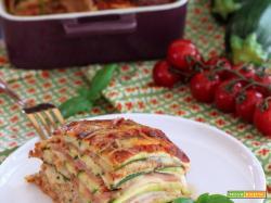 Parmigiana di Zucchine (tutto a crudo) di Chiarapassion