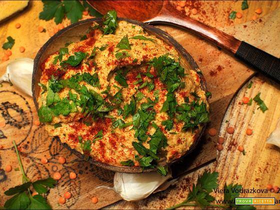 Patè di lenticchie rosse e schiacciatine Probiotiq