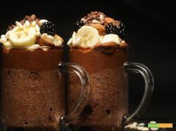 Pudding di Chia Black peccaminoso senza glutine