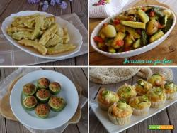 Le mie migliori ricette con zucchine