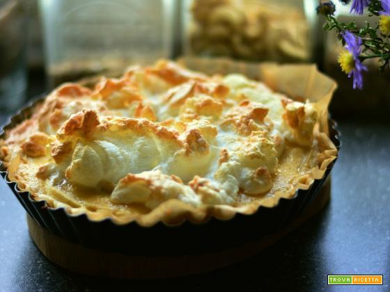 Torta di mele meringata, variante al dolce classico