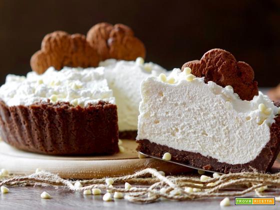 Crostata al Cioccolato Bianco Senza Cottura