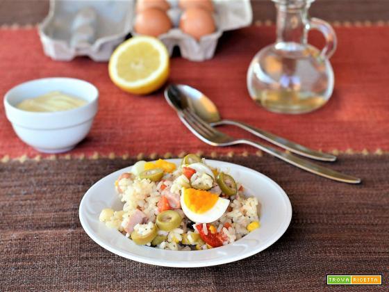Insalata di riso ricetta