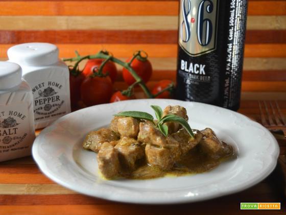 Bocconcini di pollo alla birra aromatizzati con salvia e rosmarino