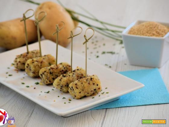 Crocchete di patate e quinoa