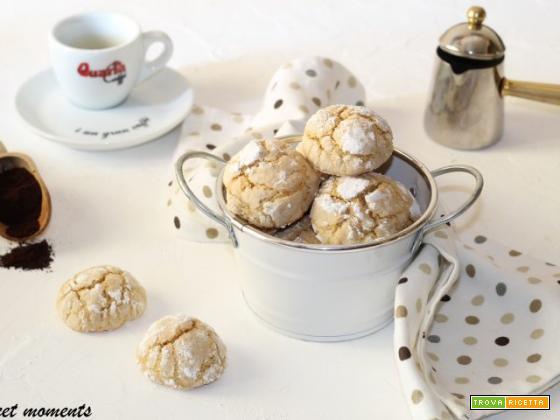Biscotti morbidi al caffè | Sweet moments ricette