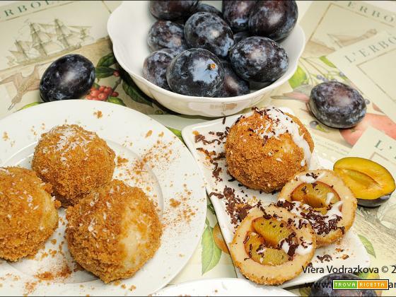 Gnocchi alla frutta – Czech Dumpling – Ovocné Knedlíky