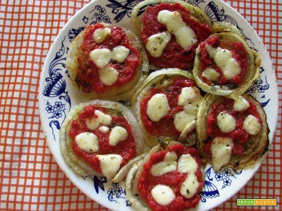 Ricetta – Pizzette di cipolle di Giarratana