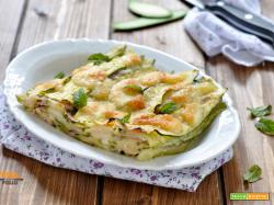 Tortino di zucchine con prosciutto e provola