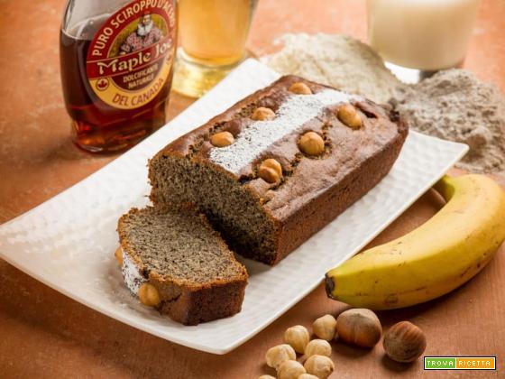 Prova il plumcake alle banane e nocciole , non lo potrai più scordare!