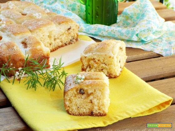Torta piumino con crema al cocco