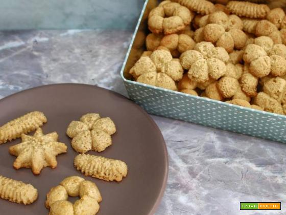 Biscotti di ceci cannella e rhum senza uova e senza burro