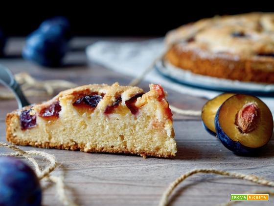 Torta Facile alle Prugne