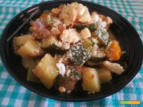 Zucchine all'acciuga