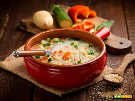 Minestra di latte con quinoa: un piatto completo, sano e gustoso