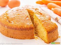 Torta integrale di carote morbida