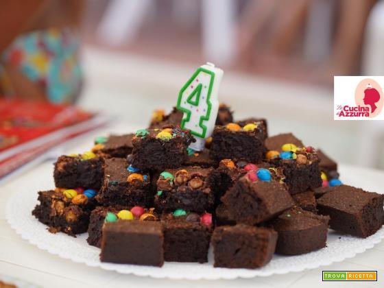 Brownies S/Glutine per festeggiare 4 anni di Elio