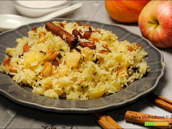 Kashmiri Pulao a modo mio senza glutine