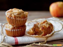 Muffin alle Mele con Farina di Grano Saraceno