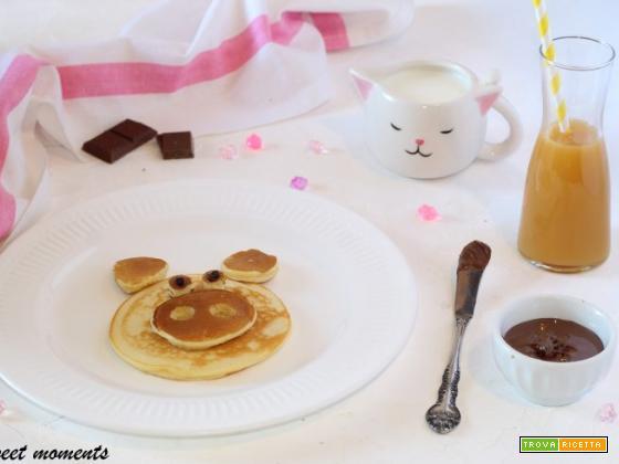 Pig pancakes per una colazione pronta in 5 minuti