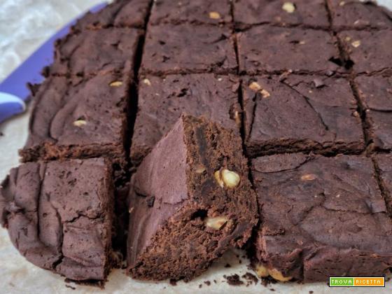 Ricetta Brownies Bimby Senza Burro.Vegan Brownies Senza Uova Senza Burro E Senza Farina Ricetta Trovaricetta Com