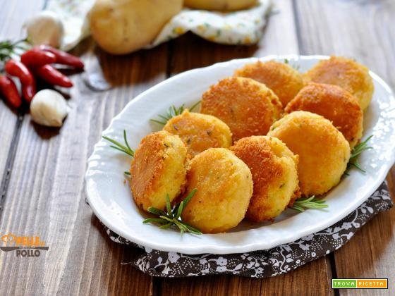 Crocchette di patate al rosmarino