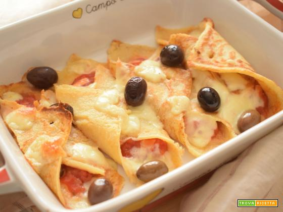 Pancakes alla mediterranea