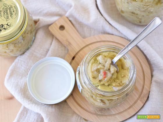 Melanzane sott'olio fatte in casa – ricetta facile