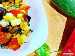 La ricetta della caponata di verdure dell'orto