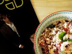 Ricetta insalata fredda ai tre cereali e gamberi