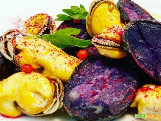 Ricetta di un classico mediterraneo: insalata di patate e cozze